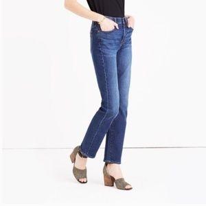 Madewell Cruiser Straight Lana Wash Jeans